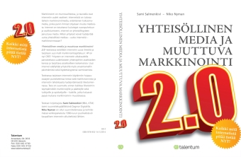 Cover design for marketing book. Published by Talentum 2007