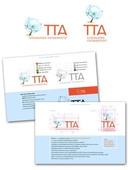 Logo and identity for CSC Data Management Services Tutkimuksen tietoaineistot. 2012.